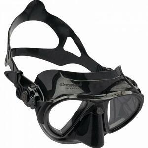CRESSI Maska NANO - zrcadlová / černý silikon