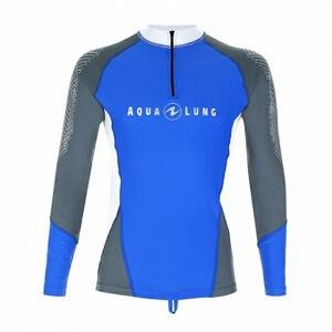 Aqualung Pánské lycrové triko Aqua Lung BLUE MEN, dlouhý rukáv - 2XL