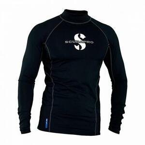 Scubapro Pánské lycrové triko T-FLEX BLACK UPF80, dlouhý rukáv - M (dostupnost 7-9 dní)