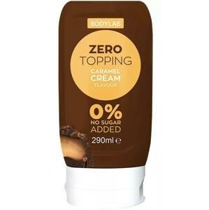 Bodylab Zero Topping Syrup 290m - bílá čokoláda
