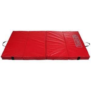 Gipfel Crash-Mat skládací gymnastická žíněnka červená