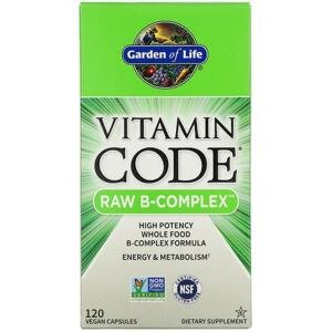 Garden of Life Vitamin B Komplex - RAW 120kapslí