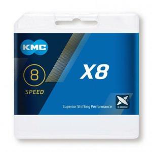 Kmc X8 Stříbrno/šedý BOX řetěz