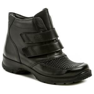 Axel AXBW070 černé dámské zimní boty šíře H - EU 37