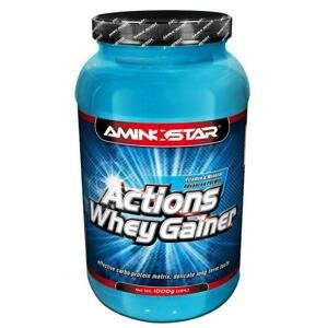 Aminostar Actions Whey Gainer 1000 g - čokoláda