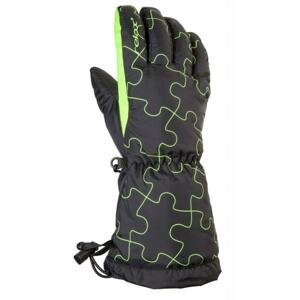 Relax Dětské lyžařské rukavice PUZZY RR15A - 10Y