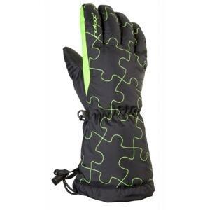 Relax Dětské lyžařské rukavice PUZZY RR15A - 8Y