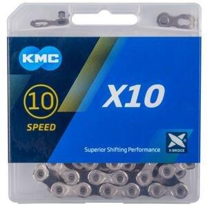 Kmc X10 Stříbrno/černý BOX řetěz