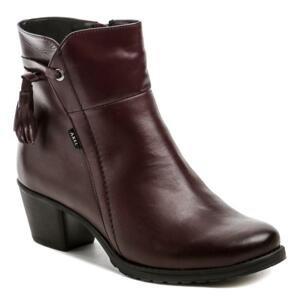 Axel AXBW075 bordó dámské zimní boty - EU 38