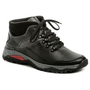 Bukat 860 černé pánské zimní boty - EU 44