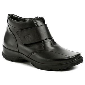 Axel AXBW092 černé dámské zimní boty šíře H - EU 41