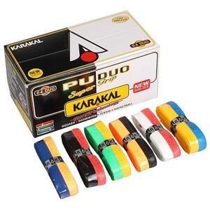 Karakal PU Super grip Duo twin základní omotávka mix barev - 1 ks