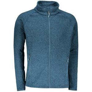 2117 HOLM - pánská fleecová mikina - modrá - XL