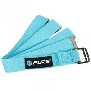 Pure2improve Pásek na Jógu P2I 180 cm - Modrá