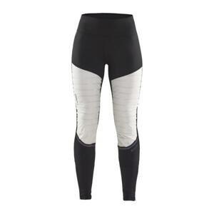 Craft SubZ Padded Tights W 1907703 dámské běžecké kalhoty - S - bílá s černou