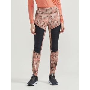 Craft SubZ Padded Tights W 1907703 dámské běžecké kalhoty - L - růžová