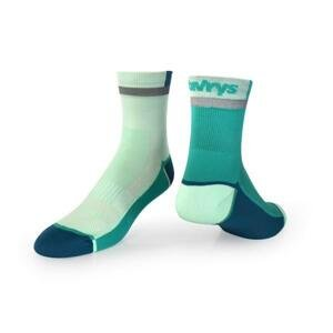 Vavrys CYKLO 2020 2-pack ponožky - 34-36 - zelená