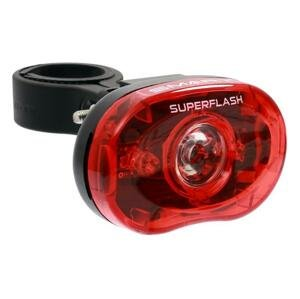 Smart blikačka zadní 318 R 1/2W LED