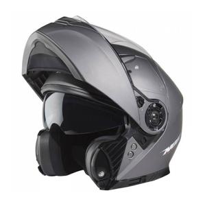 Nox Přilba N965, (stříbrná titanium matná) - L : 59-60 cm