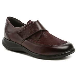Axel AXCW010 vínové dámské polobotky boty šíře H - EU 37