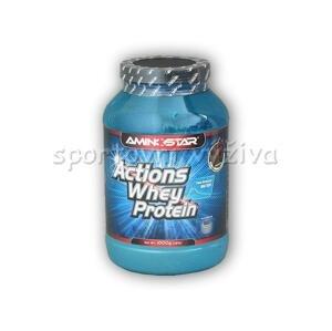 Aminostar Actions Whey Protein 65% 1000g - Vanilka