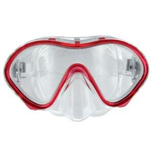 Scubia Potápěčská maska ESCUBIA Zephiro Junior - Červená