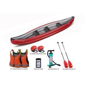 Gumotex Scout Economy SET 2 - červeno-šedá loď