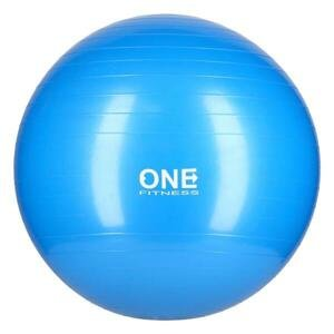 ONE FITNESS Gymnastický míč Gym Ball 10 modrý, 55 cm