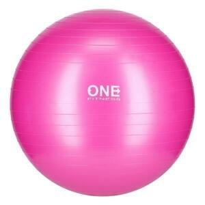 ONE FITNESS Gymnastický míč Gym Ball 10 růžový, 55 cm