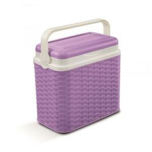 Adriatic Chladící box 10 l ratan fialový
