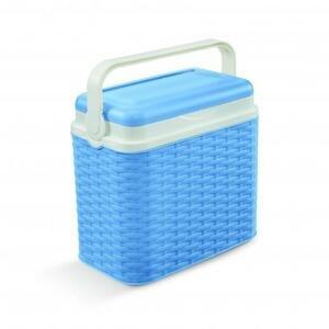 Adriatic Chladící box 10 l ratan modrý