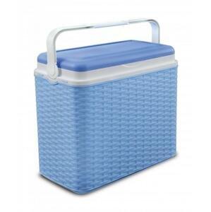 Adriatic Chladící box 24 l ratan modrý