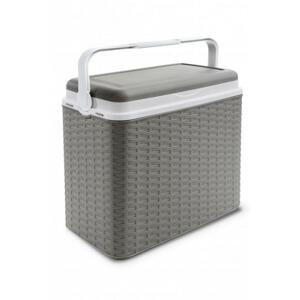 Adriatic Chladící box 24 l ratan šedý