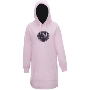 2117 MARINE - dámské šaty ( jogging ) - Pink - 38