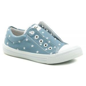3F dětské modré tenisky STAR 4BS22-2 - EU 34
