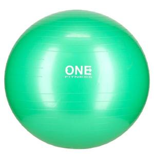 ONE FITNESS Gymnastický míč Gym Ball 10 zelený, 65 cm