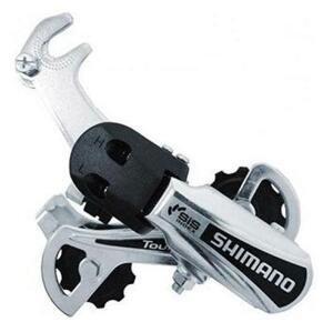 Shimano měnič RD-TY21GSB hák 6 speed stříbrný