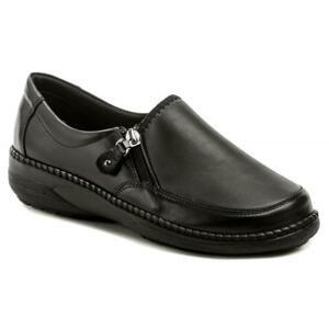 Axel AXCW135 černé dámské polobotky boty šíře H - EU 40
