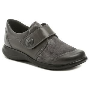 Axel AXCW128 šedé dámské polobotky boty šíře H - EU 37
