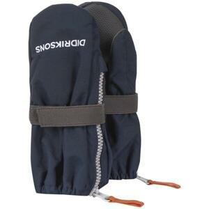 Didriksons Biggles zip 503420 dětské rukavice - 0-2 - černá