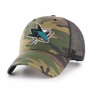 47 Brand Kšiltovka NHL MVP Cap Camo Branson SR - Senior, San Jose Sharks