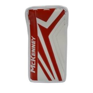 McKenney Vyrážečka XPG1 Pro JR - bílá-červená, Junior, Klasický gard