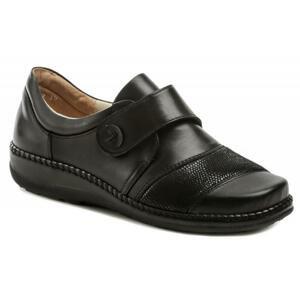 Axel AXCW132 černé dámské polobotky boty šíře H - EU 37