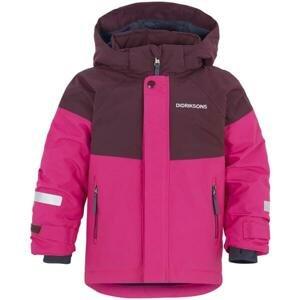 Didriksons1913 Didriksons LUN dětská zimní bunda růžová velikost: 100 - 120 - zelená