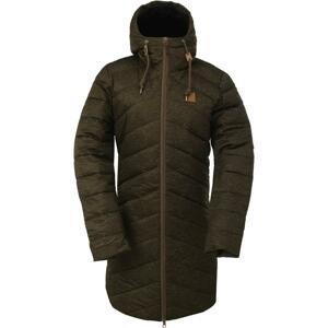 2117 HINDÅS - dámský zateplený kabát - army green + sleva 300,- na příslušenství - M