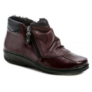 Axel AX1725 bordó dámské zimní boty šíře H - EU 37