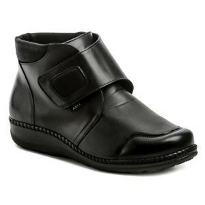 Axel AX1726 černé dámské zimní boty boty šíře H - EU 37