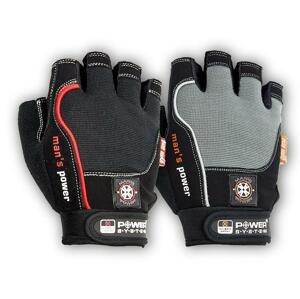 Power System rukavice MANS POWER - Black XXL