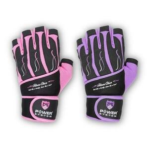 Power System rukavice FITNESS CHICA - Pink L