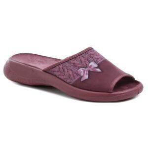 Befado 442D192 vínové dámské papuče - EU 36